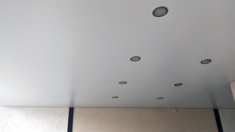 Сатиновые натяжные потолки в Брянске